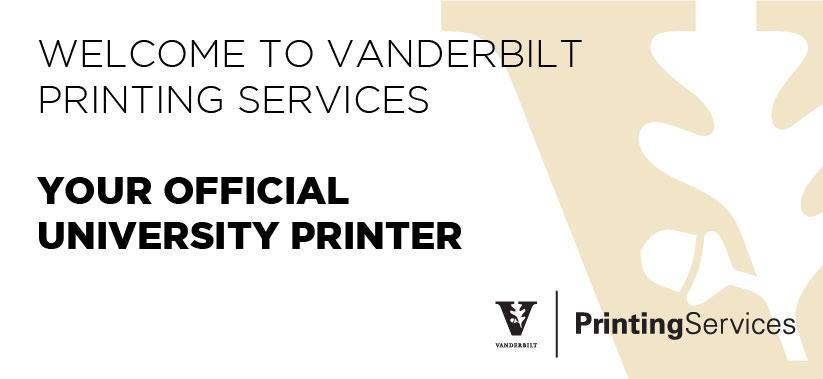 printing services vanderbilt university