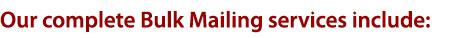 bulk mail heading
